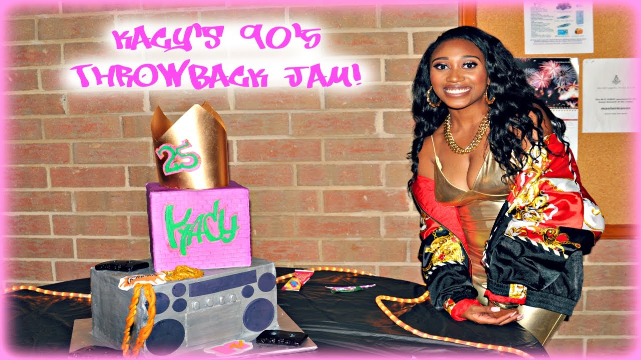 MY 25TH BIRTHDAY PARTY 90S THROWBACK