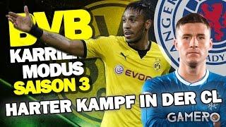HARTER KAMPF IN DER CL Gegen GLASGOW RANGERS ♕ FIFA 17 KARRIEREMODUS BVB DEUTSCH S3 #12