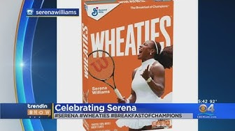 Serena Williams Featured On Wheaties Cereal Box