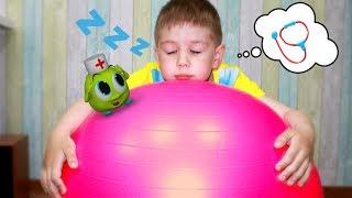 Рома и Хелпик играют в доктора Изучают медицинские приборы Видео для детей
