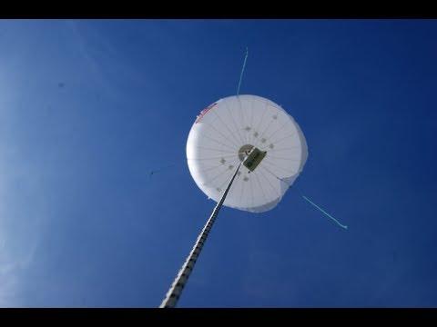 Altave demonstra Aeróstato com novo sensor POP no QGEx em Brasília.