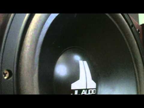 Jl Audio 12w0 sound test