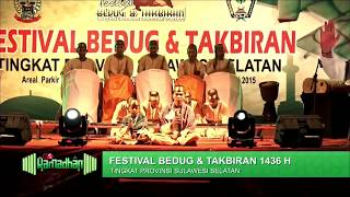 Festival Bedug & Takbiran 1436 H - Sanggar Seni Pattalassang, Takalar
