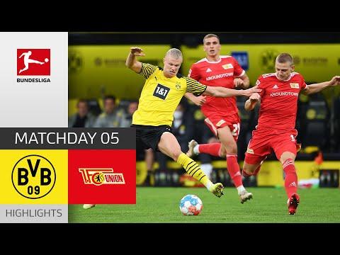 Borussia Dortmund - Union Berlin 4-2 | Highlights | Matchday 5 – Bundesliga 2021