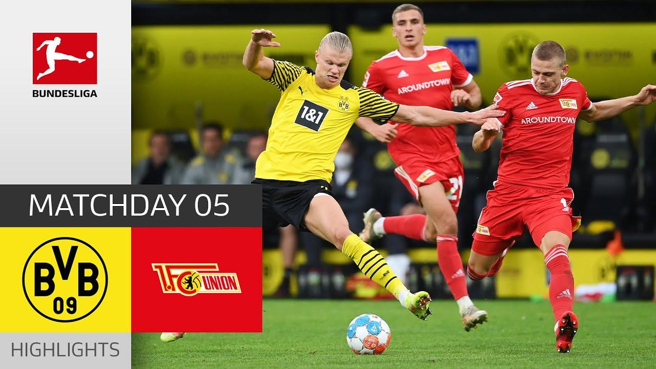 Download Borussia Dortmund - Union Berlin 4-2 | Highlights | Matchday 5 – Bundesliga 2021/22