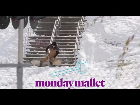 Monday Mallet Caught On The Upright snowboard video