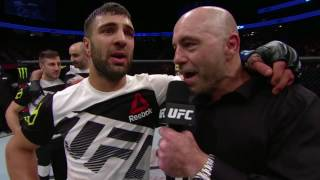 UFC 209: David Teymur Octagon Interview