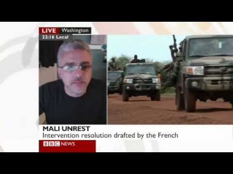 Rudolph Atallah on military intervention in northern Mali (BBC News)