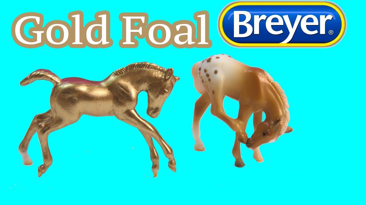 Breyer Horses Diy Gold Foal Mystery Surprise Stablemates