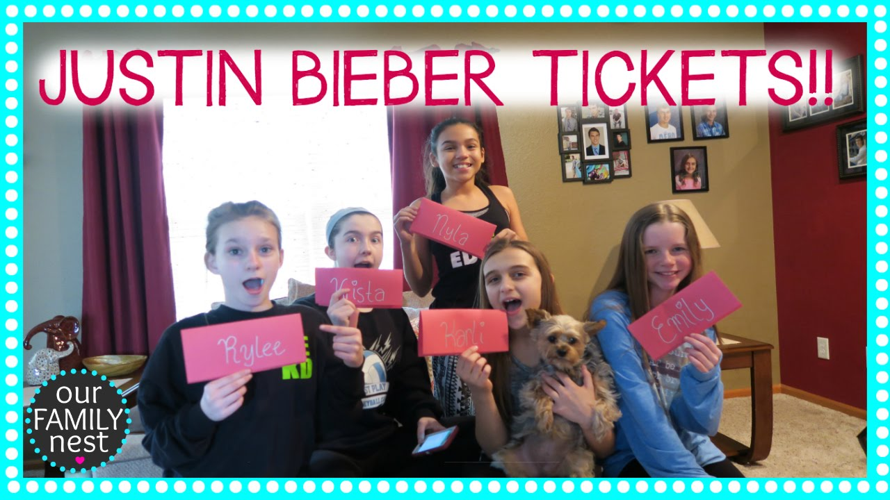 Justin Bieber concert tickets?