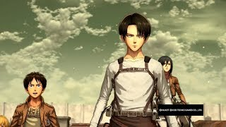 Attack on Titan Wings of Freedom Levi Training Blades 99+ Last Line of Defense Challenge