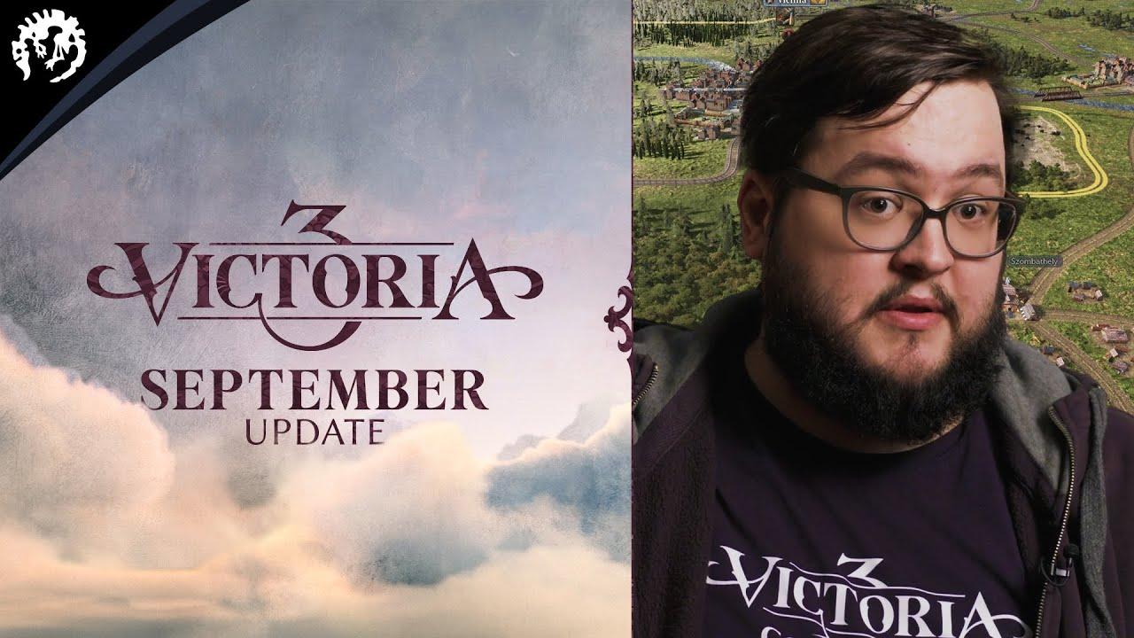 Victoria 3 | Monthly Update #3 | September