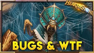 INFINITE HEAL??! Bugs & WTF Moments ep.13 | Hearthstone