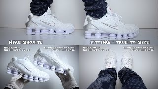 Nike Shox TL White (review) - Unboxing & On Feet