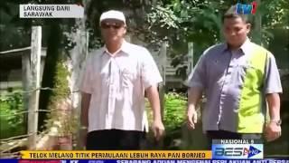 TELOK MELANO TITIK PERMULAAN LEBUH RAYA PAN BORNEO