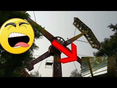 thunder ride in essel world with inside view