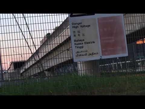 SMRT Trains CGL Kawasaki Heavy Industries C151 [073/074] Exiting Tunnel To Expo (➡️ Tanah Merah)