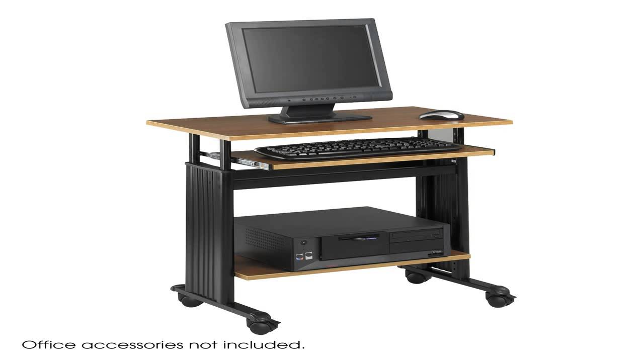 Safco Products 1929CY Muv Stand Up Adjustable Height Computer Workstation W
