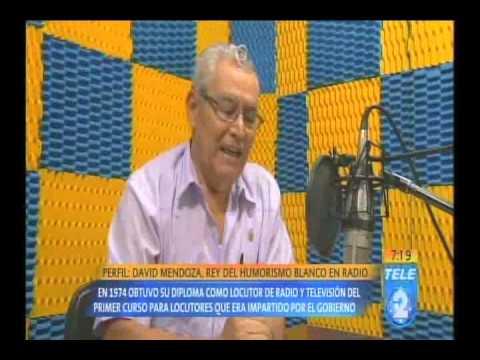 David Mendoza, rey del humorismo blanco en radio