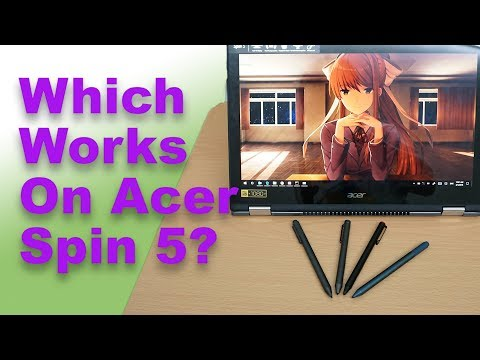 Will The Surface Pro Or Wacom Pens Work On The Acer Spin 5?