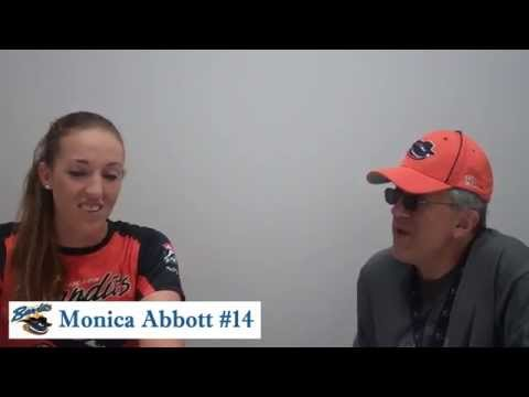 On the Beat with Monica Abbott of the Chicago Bandits 2015