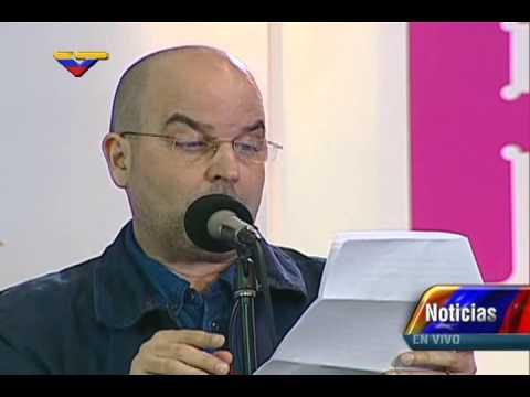 """Inauguración de Filven 2015: Puertorriqueño Eduardo Lalo lee texto """"La Última Reja"""""""