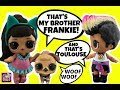 LOL Surprise Doll Custom Ariana Grande, Brother Frankie & Toulouse Wedding  Pt 1 Open Blind Bag Toys