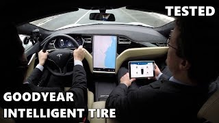 Goodyear Intelligent Tire Tested on Tesla Model S