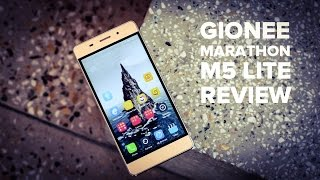 Gionee Marathon M5 Lite review [UNBOXING, BENCHMARKS etc.]