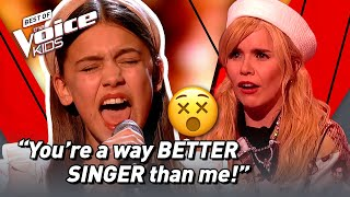 Download Nervous girl sings UNEXPECTED HIGH NOTES in The Voice Kids! 😵 | The Voice Stage #67