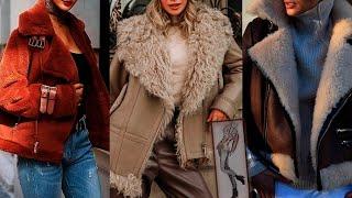 МОДНЫЕ ЖЕНСКИЕ ДУБЛЁНКИ 2020 2021 мода для женщин за 50