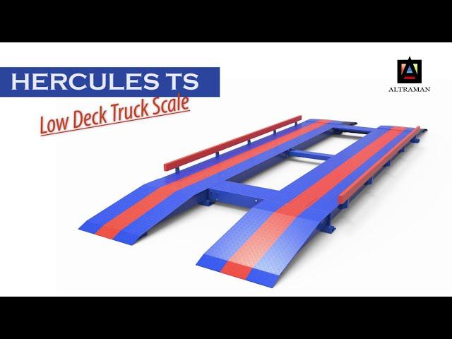 Hercules-TS, Jembatan Timbang Biaya Murah Pemasangan 1 Hari