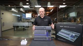 Zoom L20 Digital Mixer Unboxing