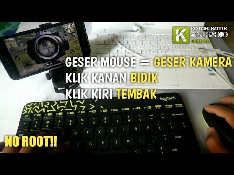Cara Main PUBG Mobile Pakai Keyboard dan Mouse Layaknya Di PC Tanpa ROOT!!