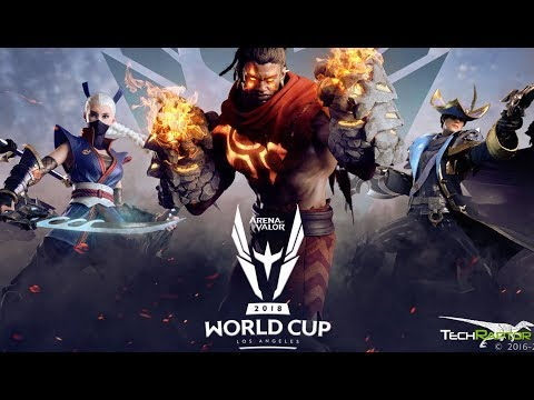 I Went To The Arena Of Valor World Cup And Left With A New
