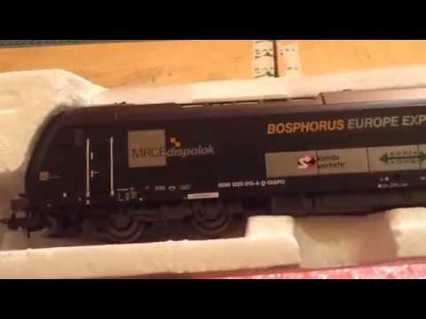 PIKO 57596 Diesel Loco Herkules Bosphorus Europe Express UNBOXING (Full HD - 1080p !)