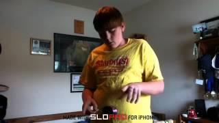 slow motion breakdown yoyo trick kwyjibo