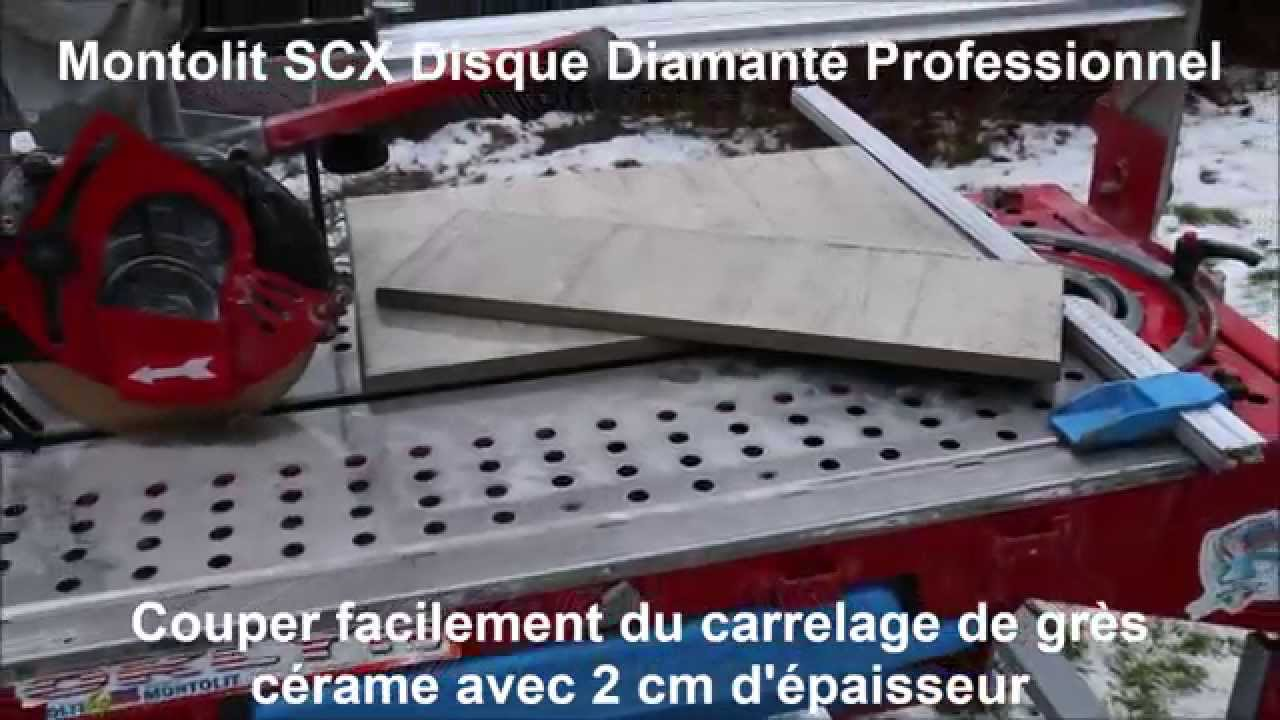 Comment couper facilement du carrelage de gr s c rame avec for Machine a couper le carrelage