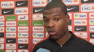 Dumfries na 2-0 zege op Frankrijk: 'Ik voel me een gezegend mens'