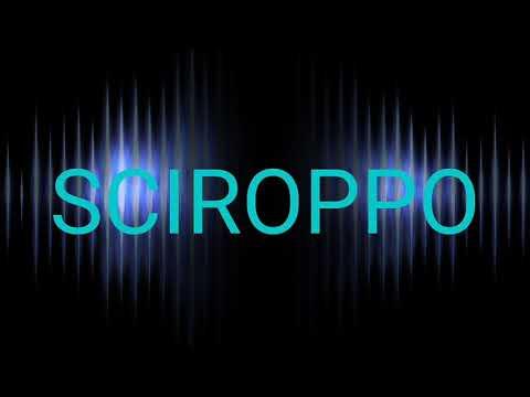 SCIROPPO official (testo)