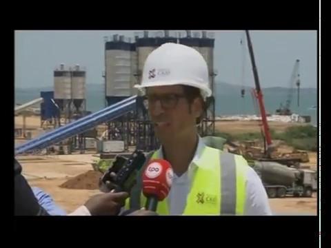 Reportagem na Televisão Pública de Angola