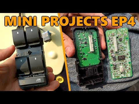 2009 Chevy HHR Window Switch Repair (Mini Projects Ep.4)