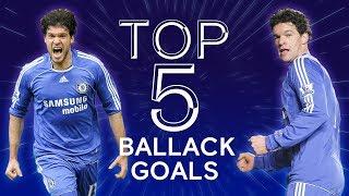 Michael Ballack's 5 Best Chelsea Goals | Chelsea Tops