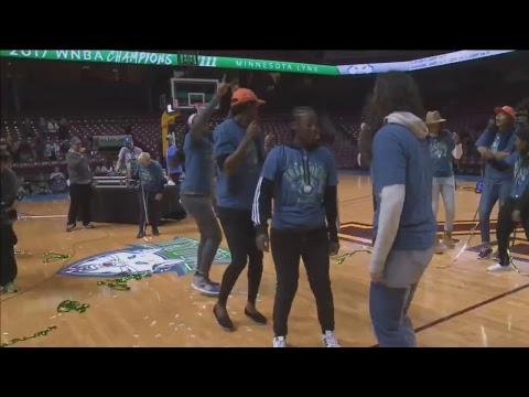 Minnesota Lynx Championship Parade & Celebration