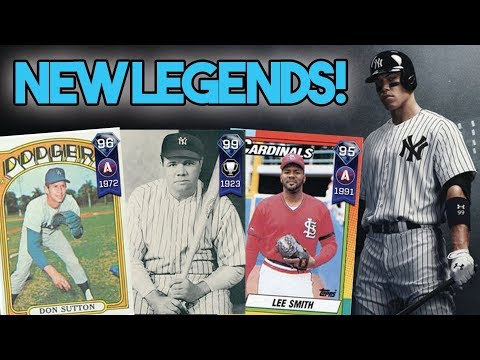 7 NEW LEGENDS IN MLB 18 THE SHOW DIAMOND DYNASTY