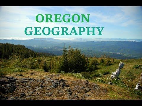 Oregon Geography