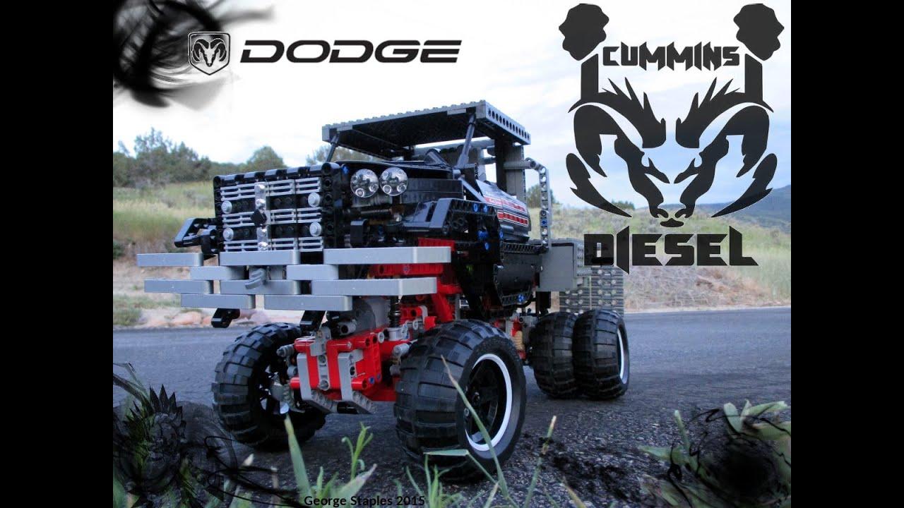 Lego Dodge Ram 3500 Youtube