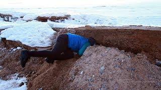 Влог 22.03.19 Рекса застряла! Пытаемся откопать