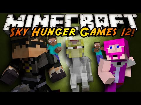 Minecraft Sky Hunger Games : THE LIFE ADVICE GHOST!