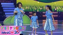 """Nola - Naura - Neona Langit """" Yang Sama - Semesta Cinta """" - Festival Kilau Raya 26 (20/10)"""